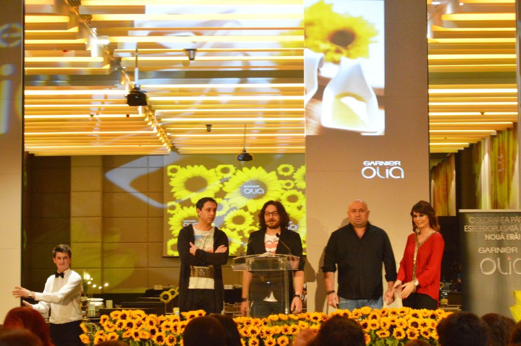 Olia Garnier - eveniment Masterchef
