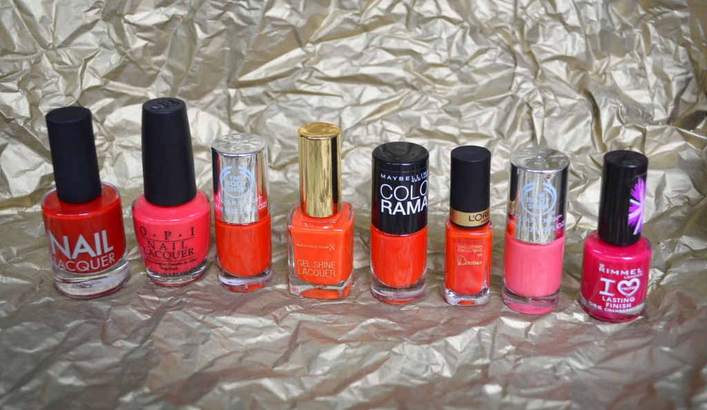Battle of the reds - top 10 red nail polishes