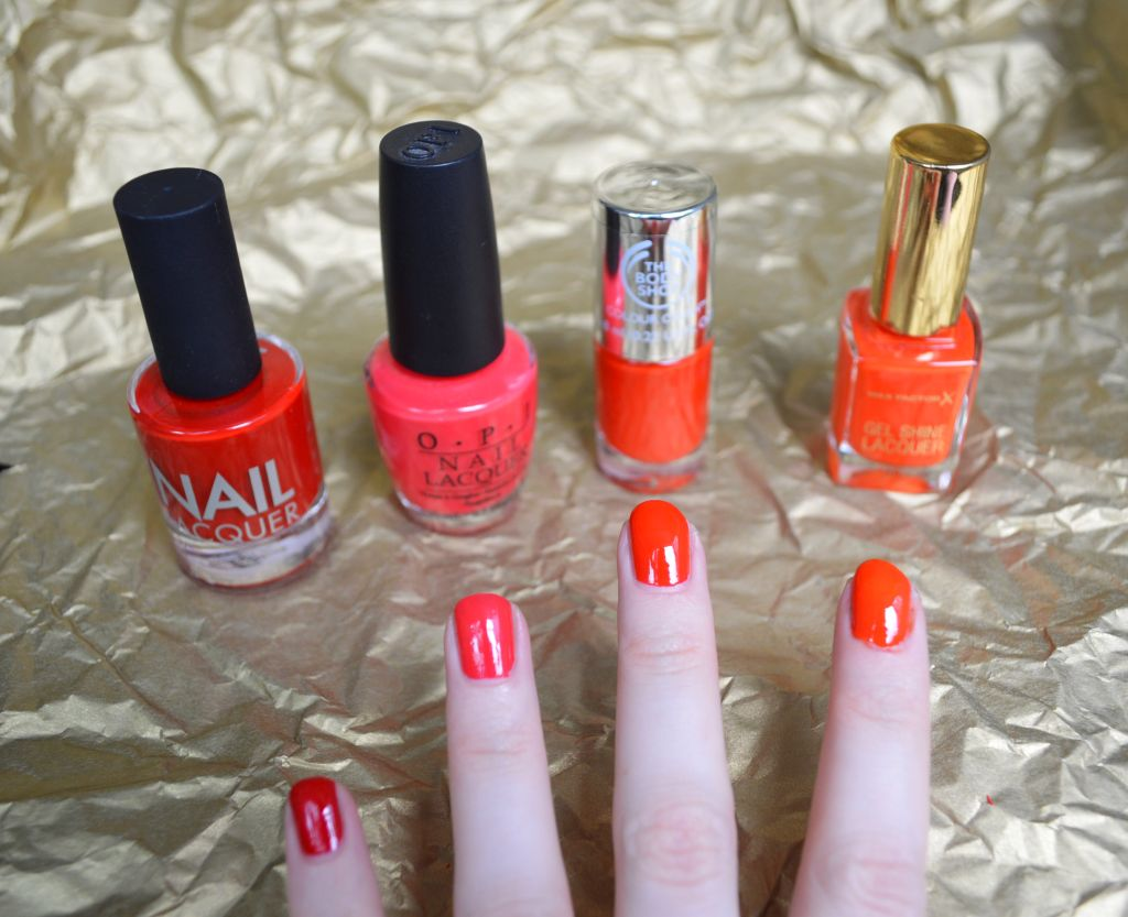 Red nail polishes - dianarosu.com